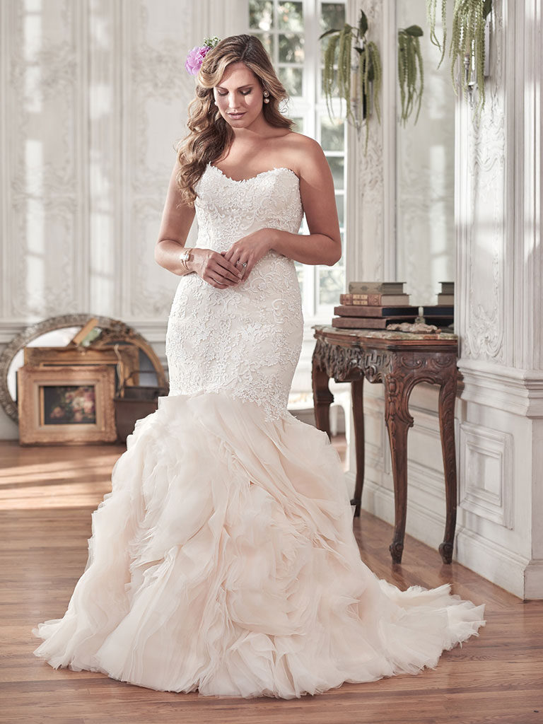 Maggie Sottero Plus Sized Wedding Dresses - Dallas, TX