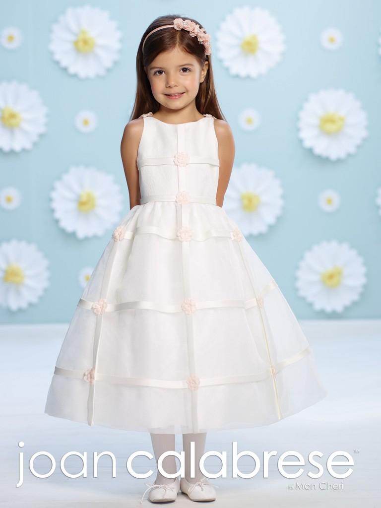 Flower Girl Dresses by Joan Calabrese for Mon Cheri - Dallas, TX